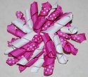 Spiral Hair Bow - JEC-DPDW-40