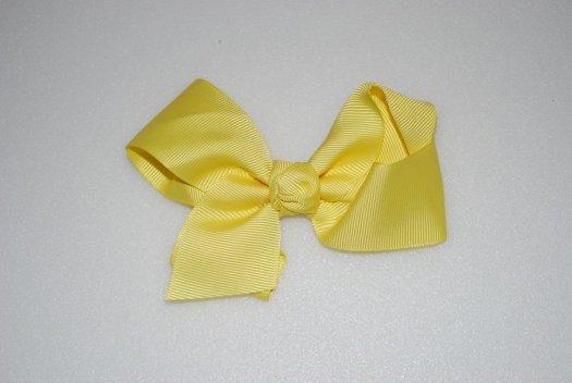 Ribbon Hair Bow - JEC-YELLOW-7