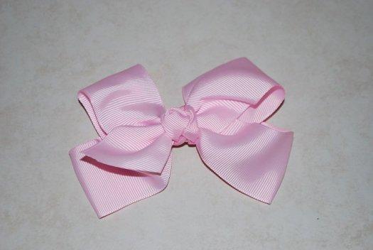 Ribbon Hair Bow - JEC-PINK-11